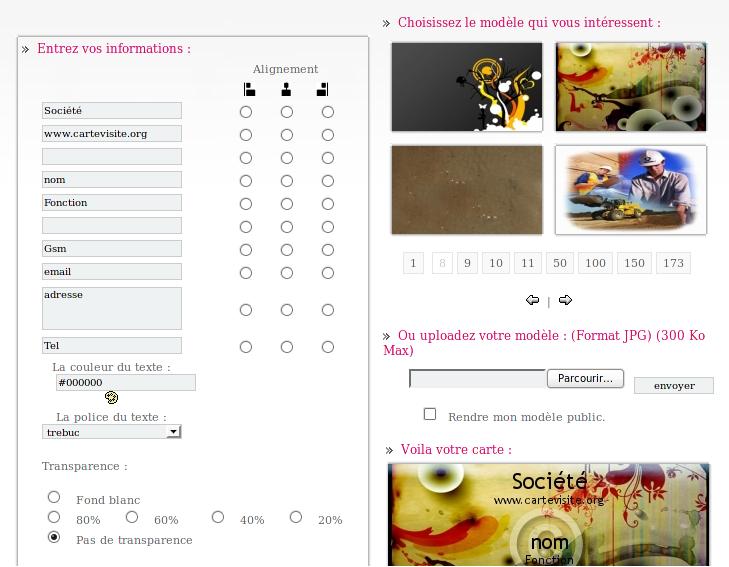 3 sites pour cr er gratuitement ses cartes de visites le blog de guilou du code des photos - Faire ses cartes de visite soi meme gratuitement ...