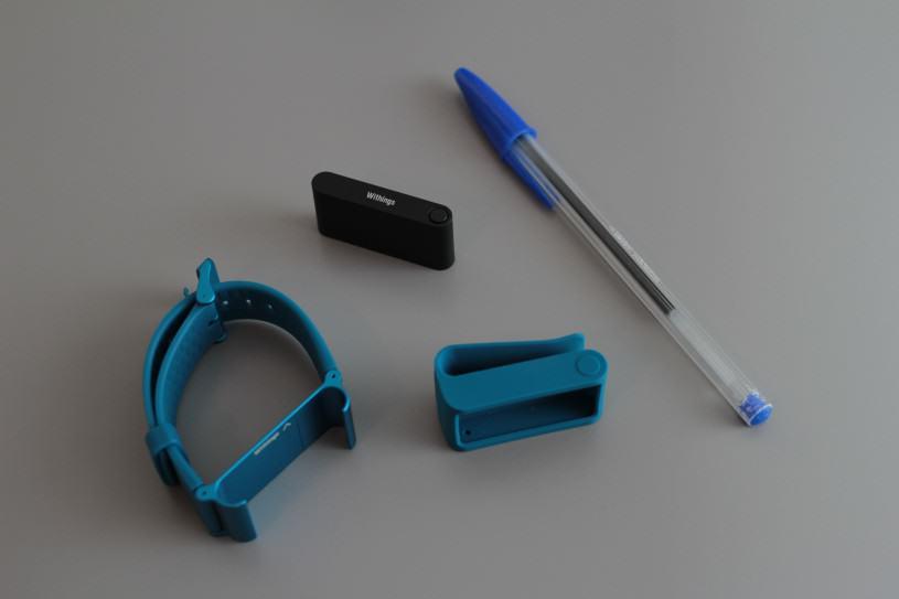 Les accessoires livrés avec le capteur