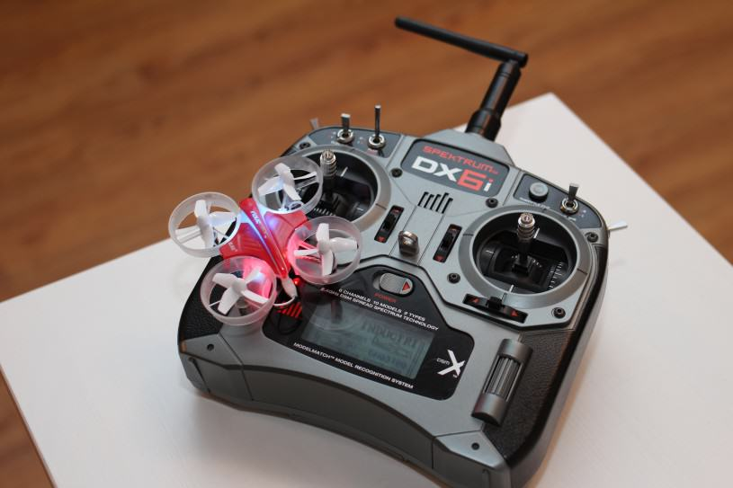 Blade Inductrix et Spektrum DX6i