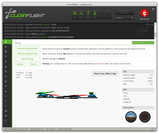 Cleanflight sous Linux Mint Debian Edition